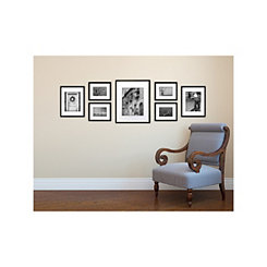 Black 7-pc. Gallery Wall Picture Frame Set