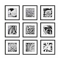 Black 9-pc. Gallery Wall Picture Frame Set