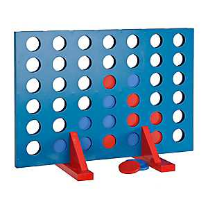 Four in a Row Outdoor Game Set