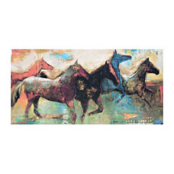 Equinus Canvas Art Print