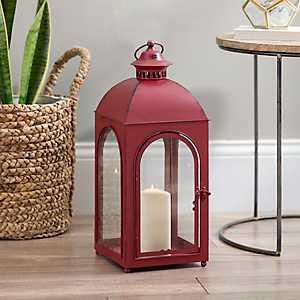 Fortune Red Metal Lantern