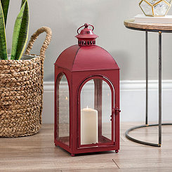 Fortune Red Metal Lantern
