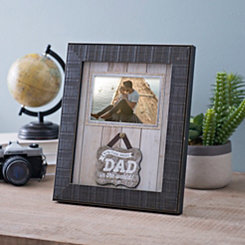 Best Dad In The World Picture Frame, 4x6
