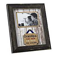 Grandpa Man Myth Legend Picture Frame