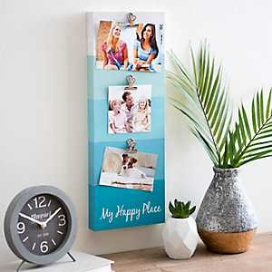 My Happy Place Clip Collage Frame