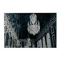 Hall Of Mirrors Glass Art Print