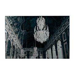 Hall Of Mirrors Glass Art Print