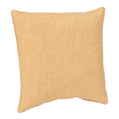 Cornsilk Washed Linen Pillow