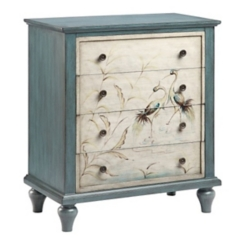 Blue Heron 4-Drawer Chest