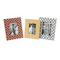 Peters Graphic Picture Frames, Set of 3