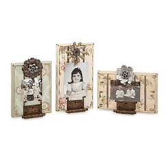 Ella Elaine Door Hinge Picture Frames, Set of 3