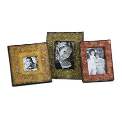 Terracotta Picture Frames, Set of 3