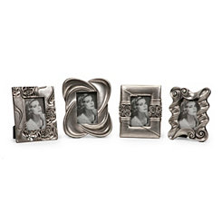Handsel Silver Picture Frames, Set of 4