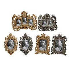 Hallet Picture Frames, Set of 6