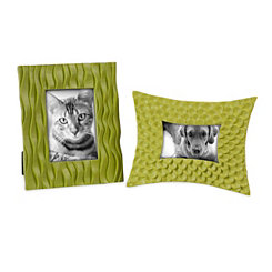 Green Apple Picture Frames, Set of 2