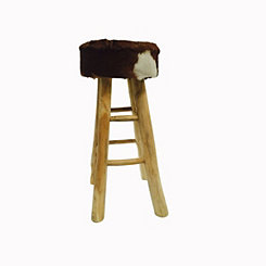 Safari Hide Bar Stool