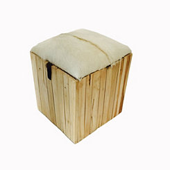 Safari Square Stool