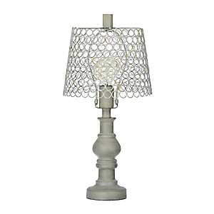 Antique Metal Barcelona Edison Bulb Table Lamp