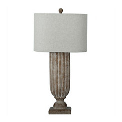 Distressed Madison Table Lamp