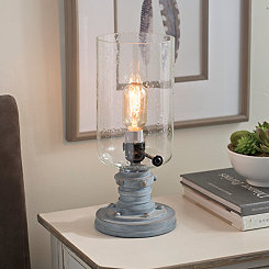 Antique Seeded Glass Edison Bulb Uplight