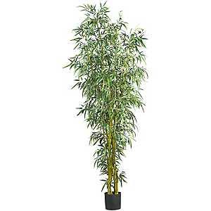 Fancy Style Bamboo Silk Tree, 8 ft.