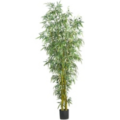Fancy Style Bamboo Silk Tree, 8 ft.