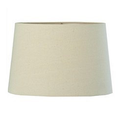Oatmeal Linen Hardback Lamp Shade