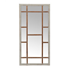 Shelby Slate Wooden Wall Mirror