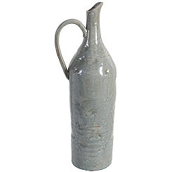 Ceramic Blue Jug Vase
