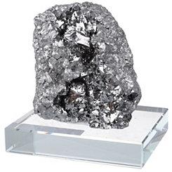 Silver Quartz Stone Figurine