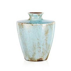 Ceramic Light Blue Vase