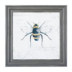 Garden Bumblebee Framed Art Print