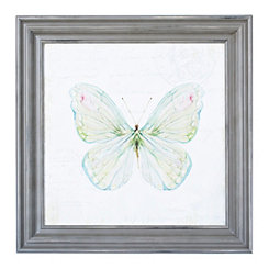 Garden Butterfly Framed Art Print