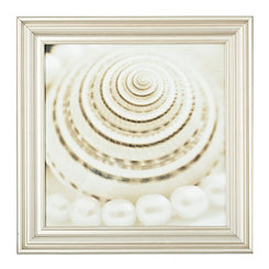 Shells and Pearls Framed Art Print