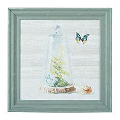 Succulent Garden II Framed Art Print