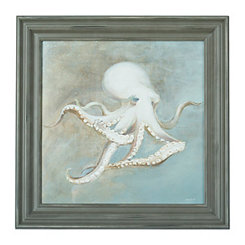 From the Sea Octopus Framed Art Print