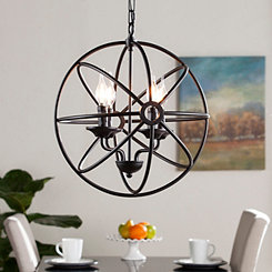 Archie Fixed Globe Pendant Lamp