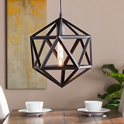 Kitsie Geometric Cage Pendant Light