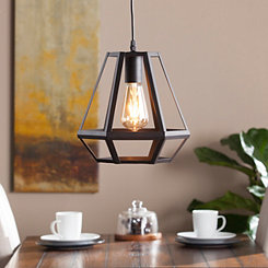 Hepuert Caged Lantern Pendant Light