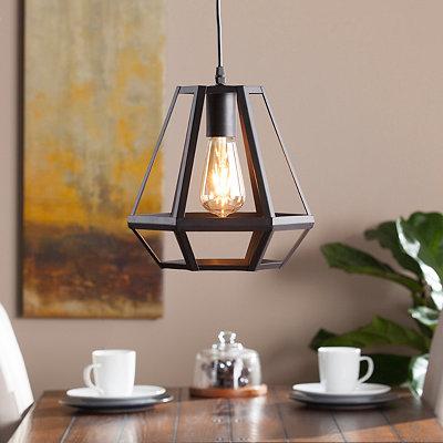 Hepuert Caged Lantern Pendant Light