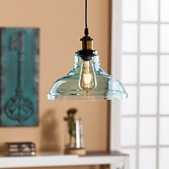 Lavinia Aqua Glass Pendant Lamp