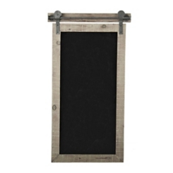 Faux Barn Door Wall Chalkboard