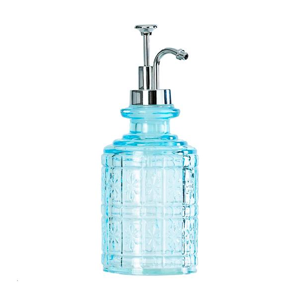 Genial Blue Starburst Soap Pump
