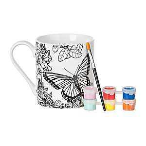 Butterfly DIY Mug Painting Kit