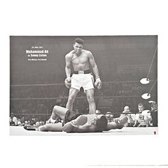Ali vs. Liston Canvas Art Print