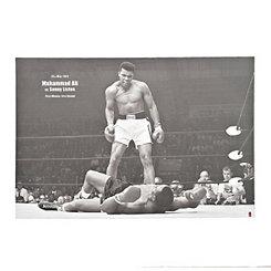 Ali vs. Liston Canvas Art Print