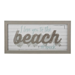 I Love You to the Beach Shadowbox