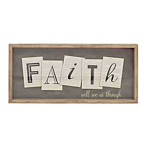 Faith Will See Us Through Shadowbox