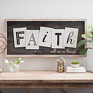 Faith Will See Us Through Shadowbox