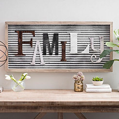 Rustic Family Shadowbox